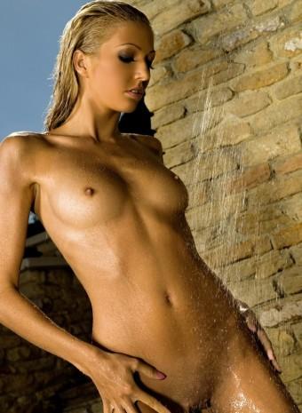 Mokra szparka blond laski