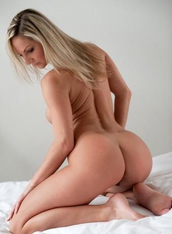 Fajna dupeczka powabnej blondyny