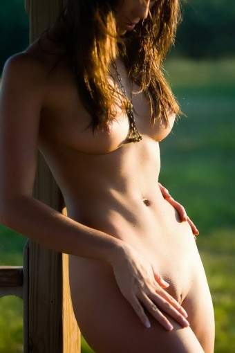 Idealne ciało młodej niuni