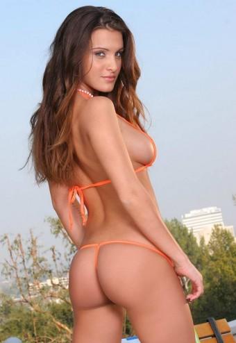 Fajna pupcia w bikini