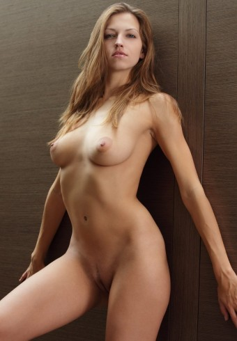Wspaniałe ciało nagiej modelki