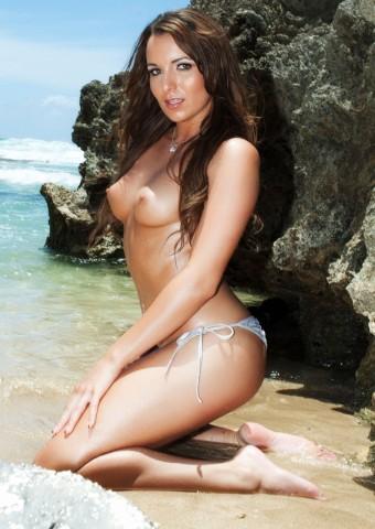 Opalone ciało dupeczki w bikini