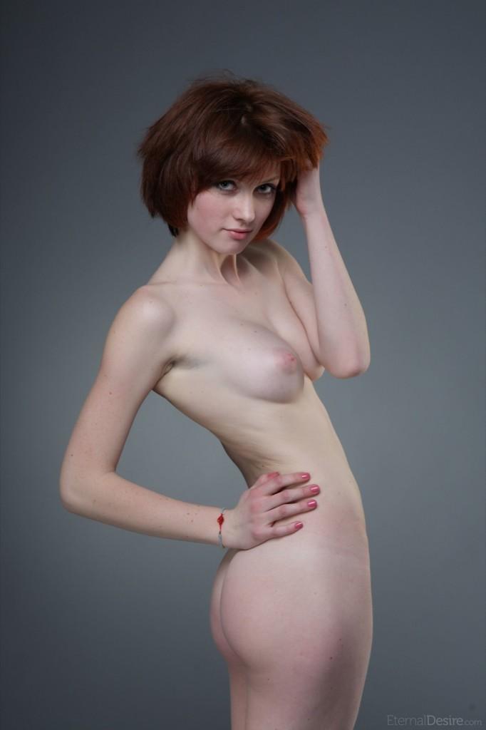 Krótkowłosa sex piękność