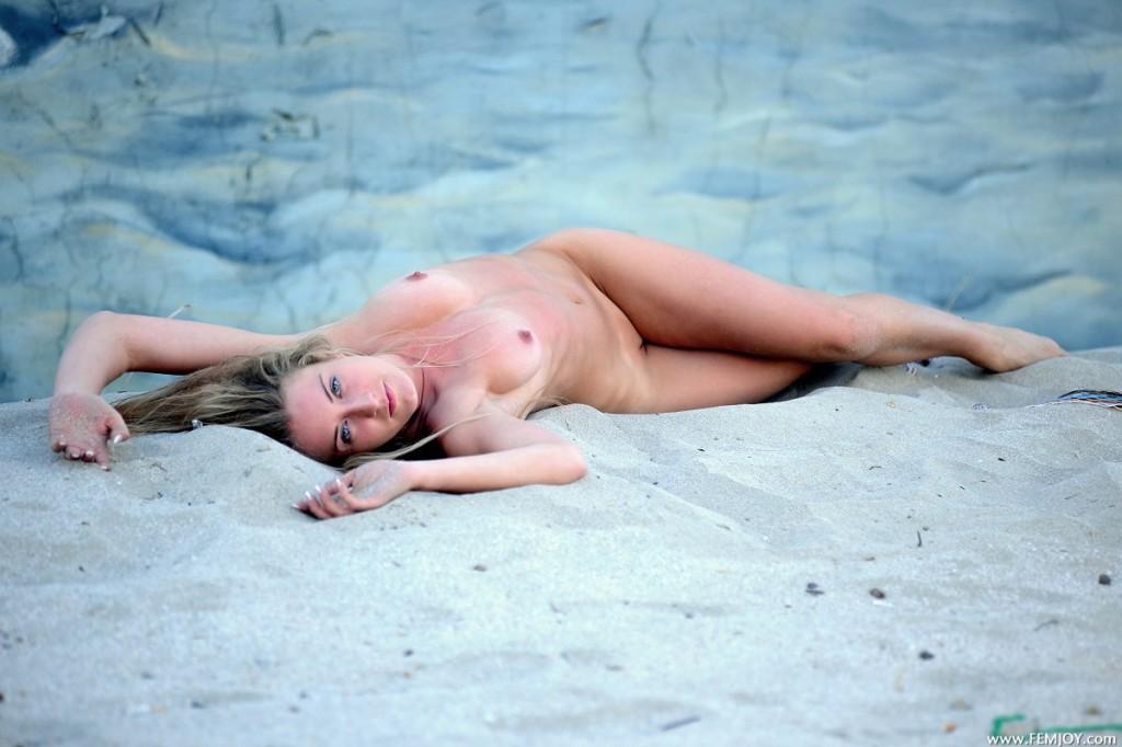 Muszla w piasku