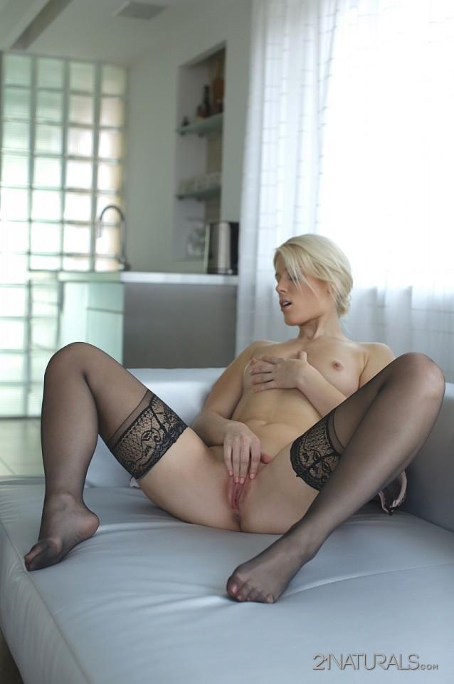 Naturalna blondynka
