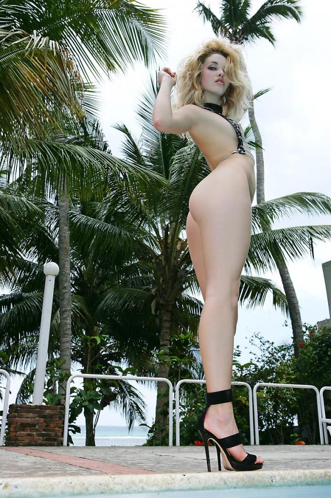 Pikantna blondyneczka