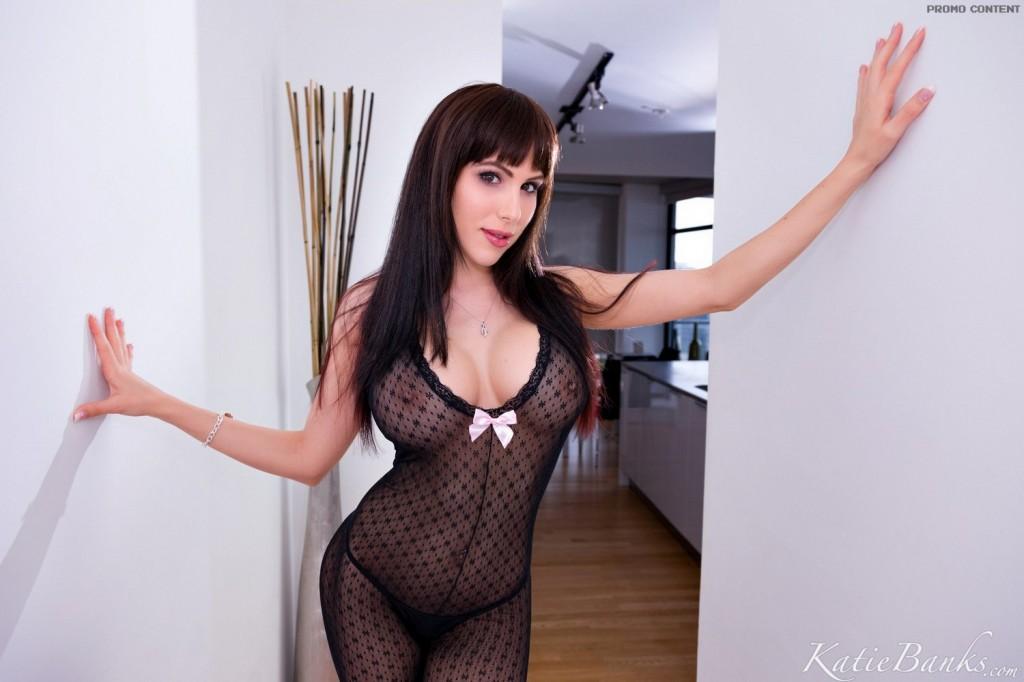 Katie w seksownym stroju