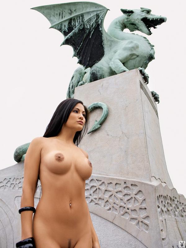Seksowna turystka