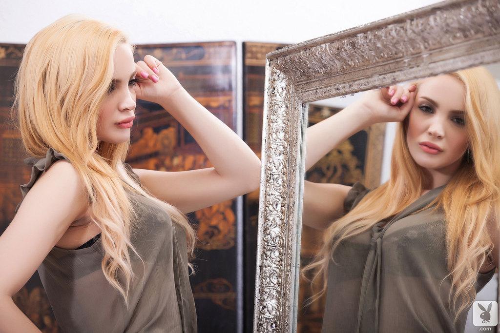 Romantyczna blondynka