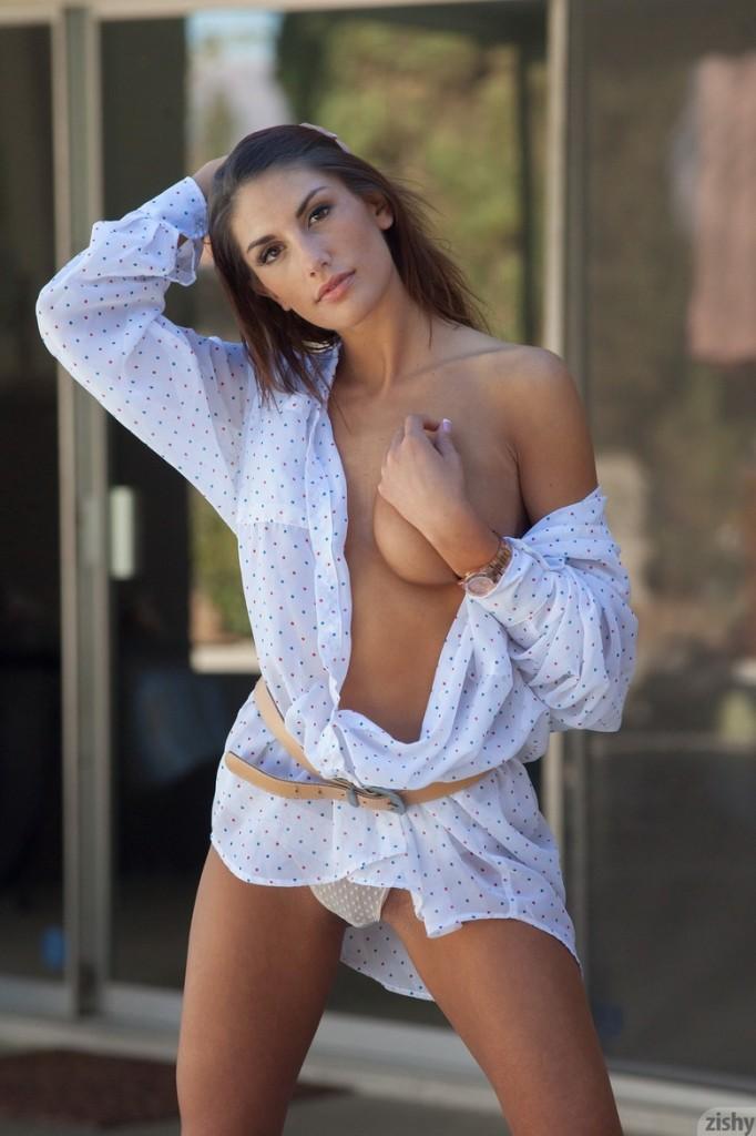 Seksowne ciało w koszuli