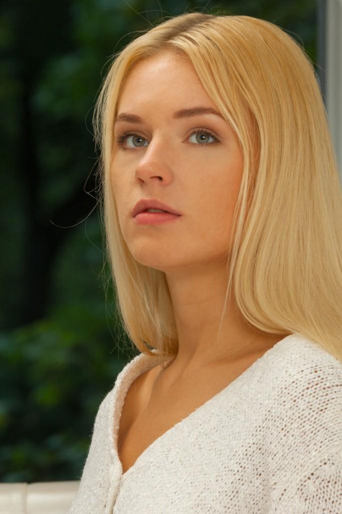 Anielska blondyneczka
