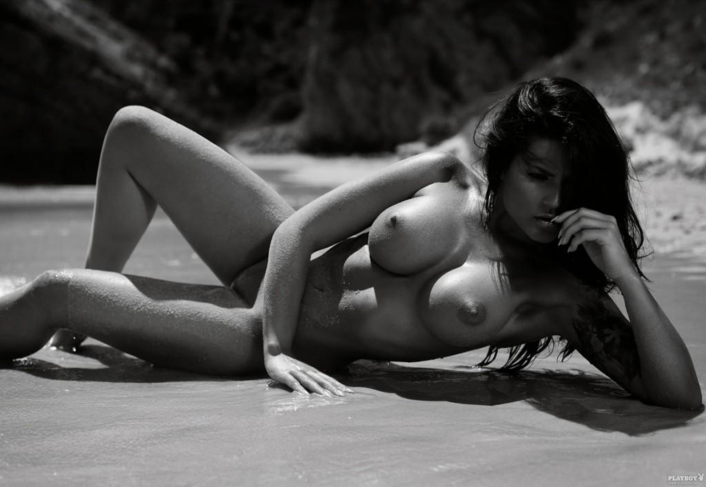 Gorąca sesja na plaży