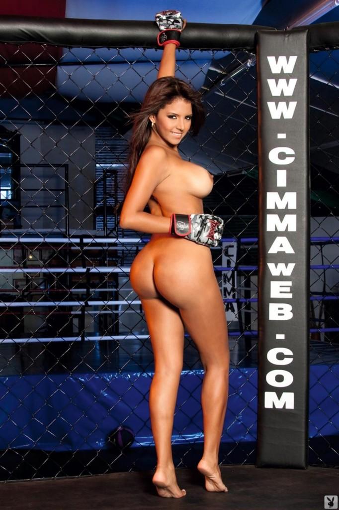 Modelka na ringu