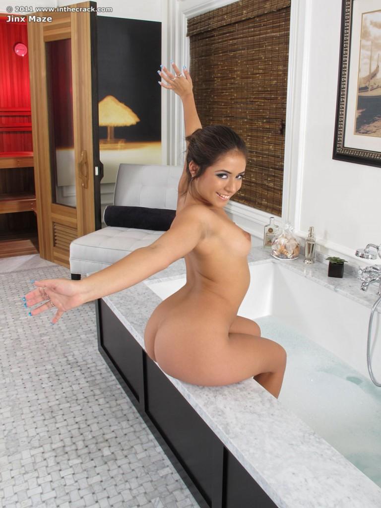 Jynx w wannie