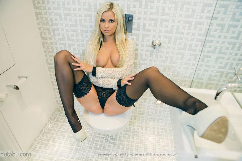 Masturbacja w łazience