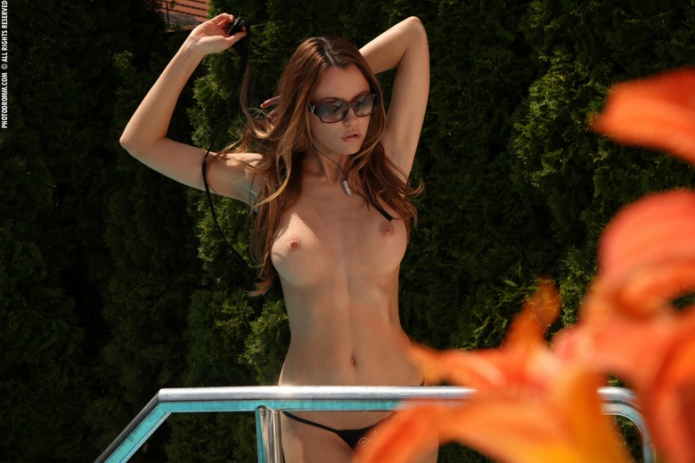 Suczka na basenie