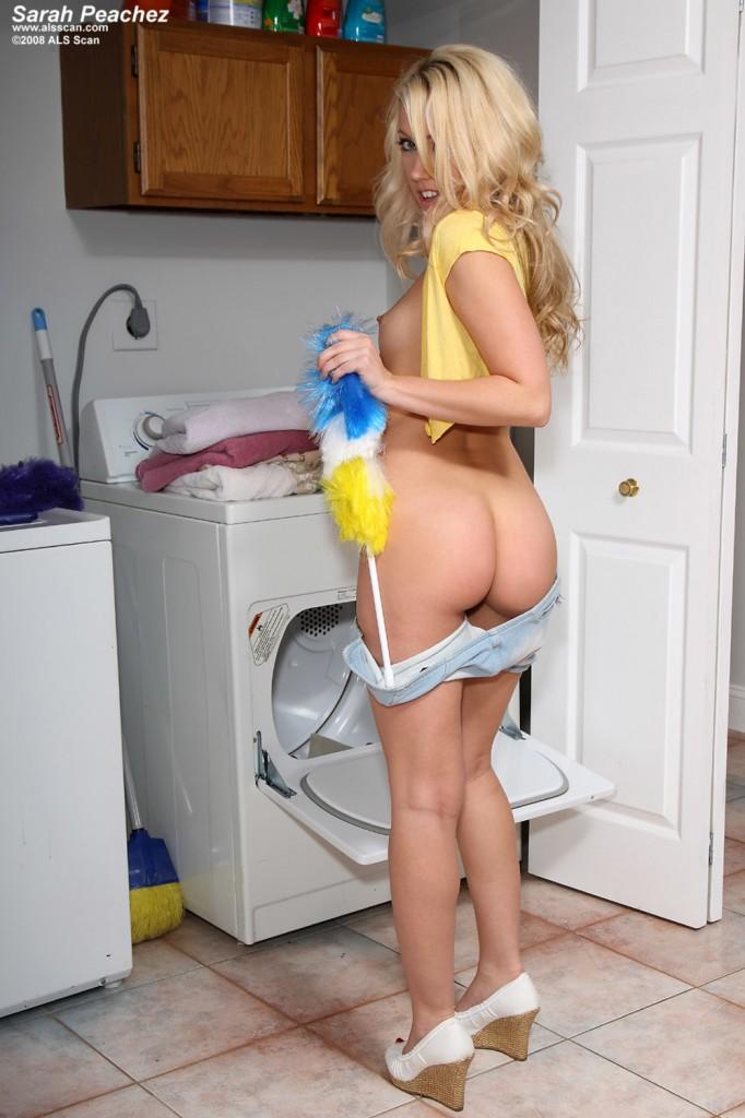 Gorąca sprzątaczka
