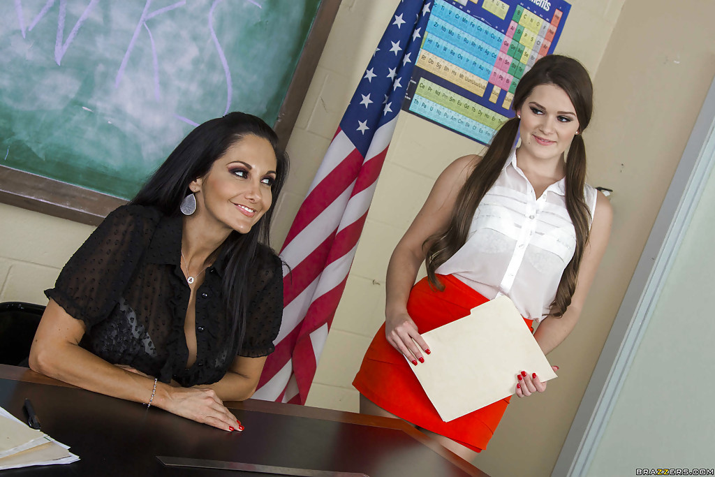 Ava Addams i Abby Cross