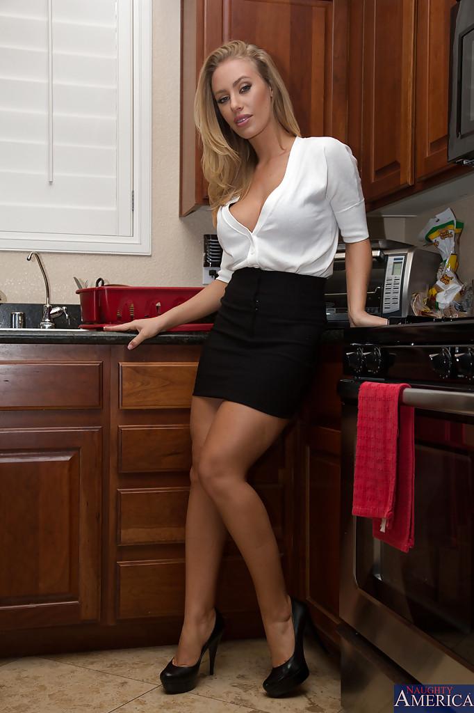 Mamuśka w kuchni
