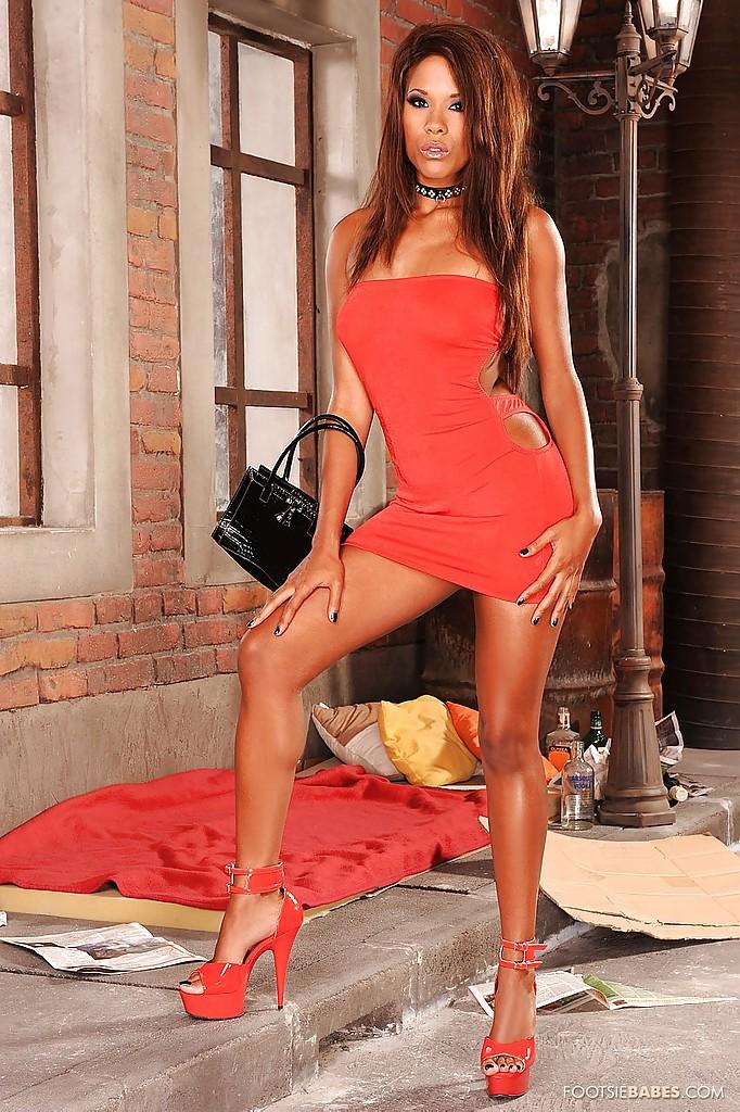 Keisha Kane w czerwini