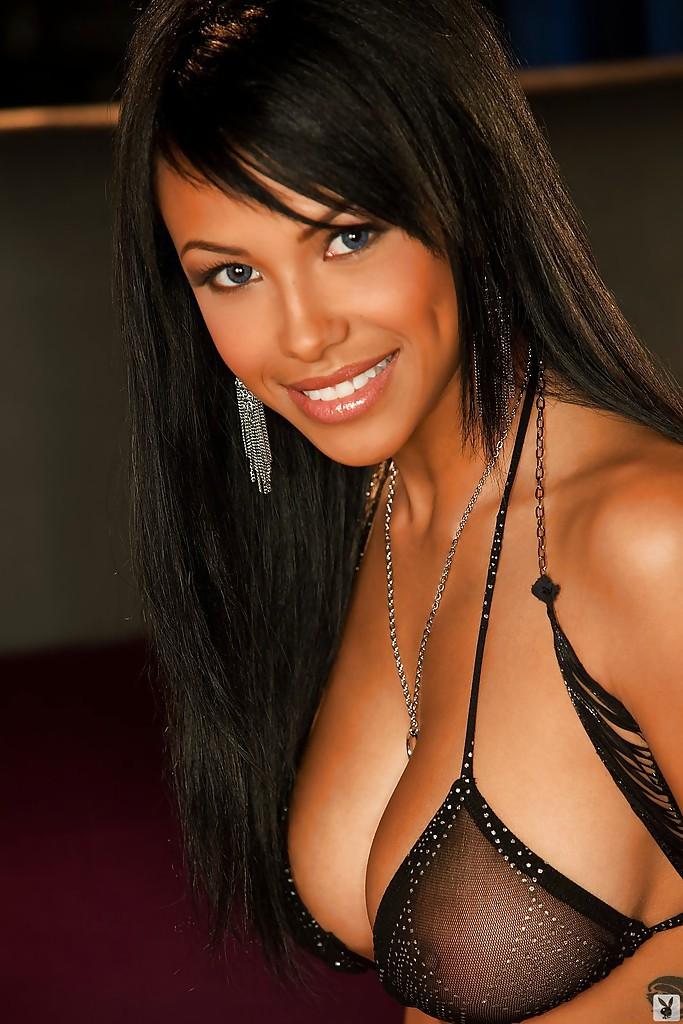 Kylie Johnson w Playboyu
