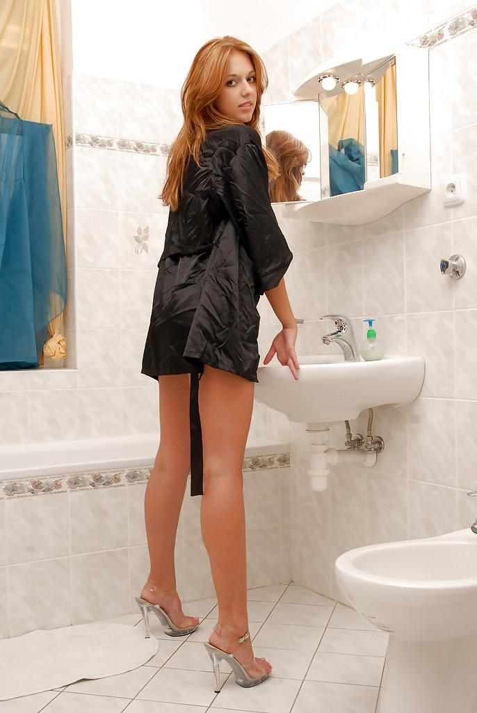 Ruda w łazience
