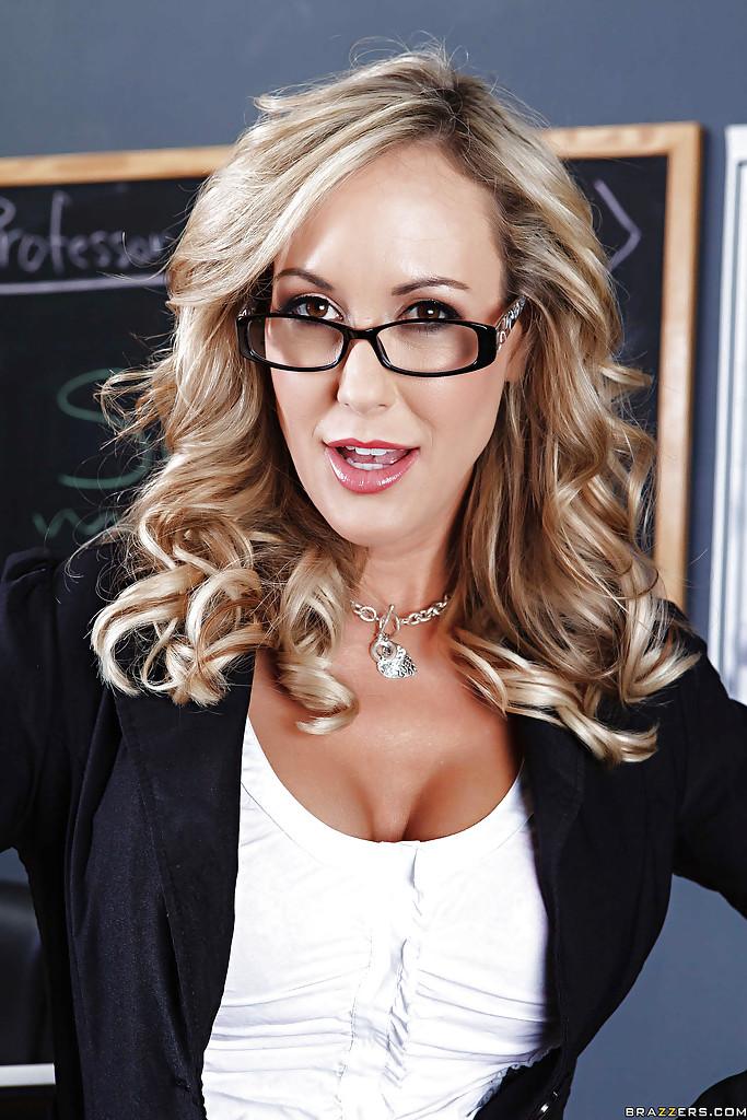 Seksowna nauczycielka  Brandi