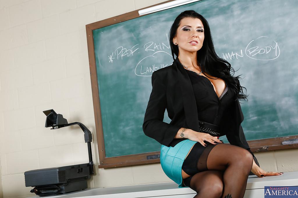 Piękna nauczycielka
