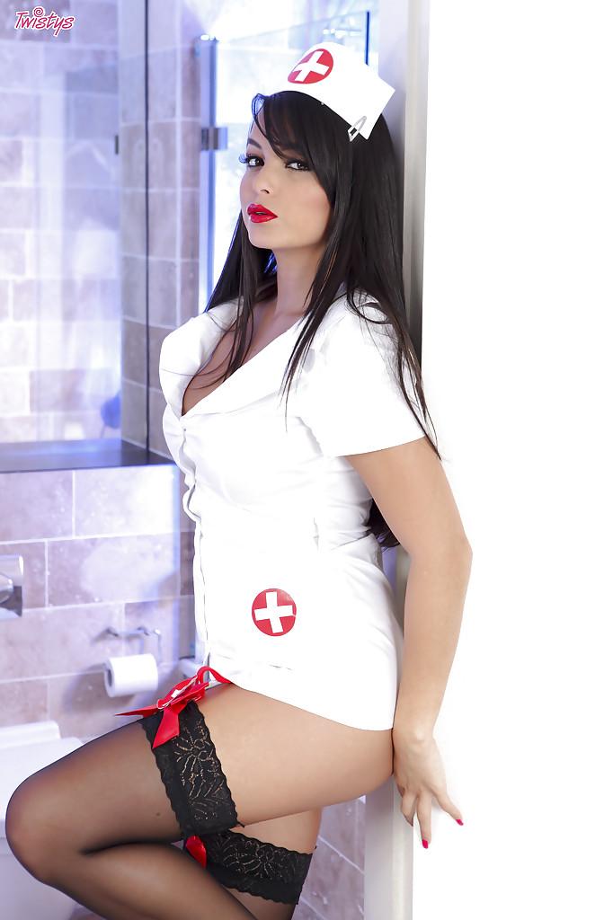 Seksowna pielęgniarka