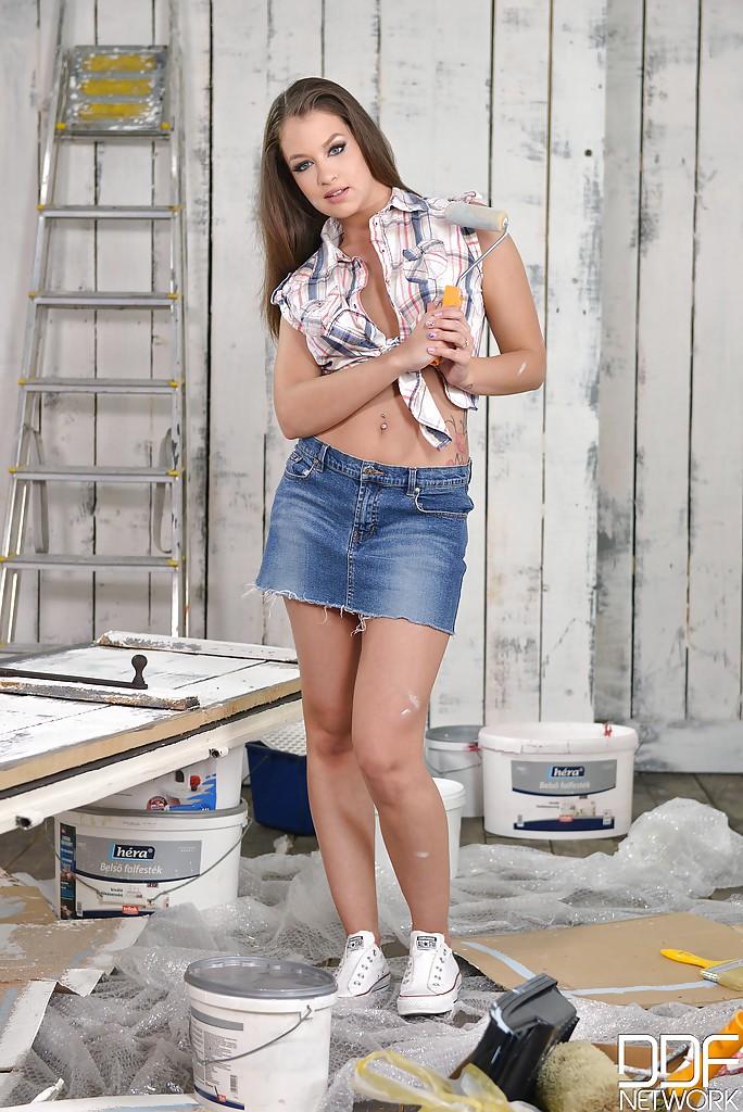 Piękna Angelina Brill