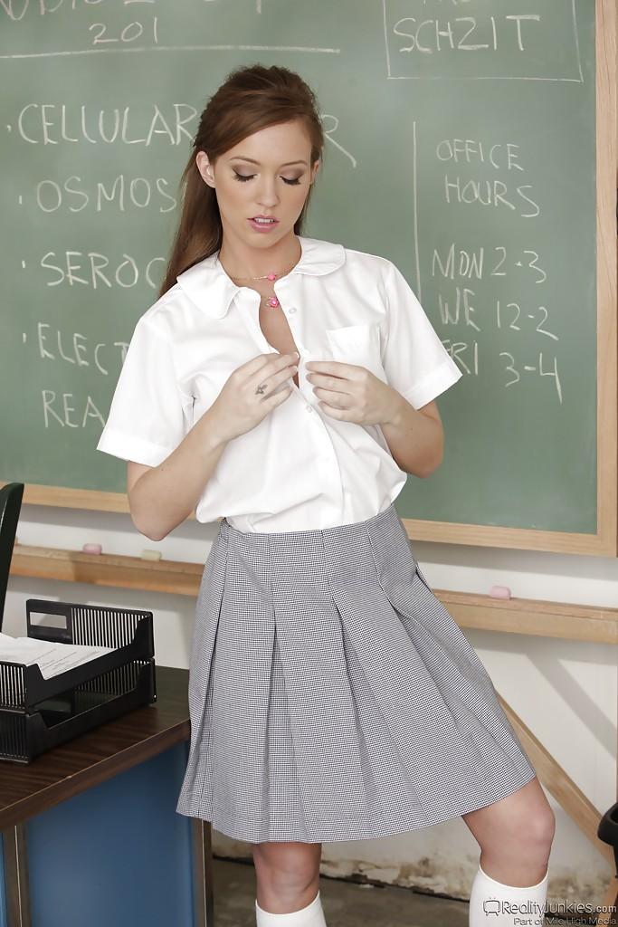 Maddy OReilly w szkole