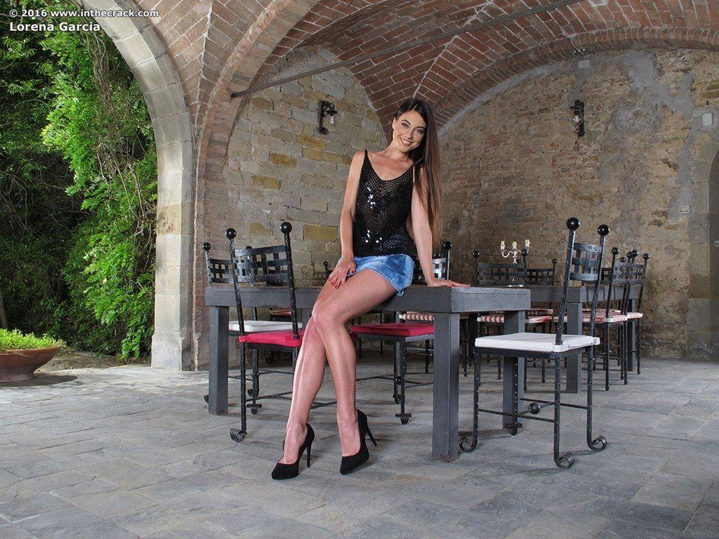 Lorena Garcia z dildo