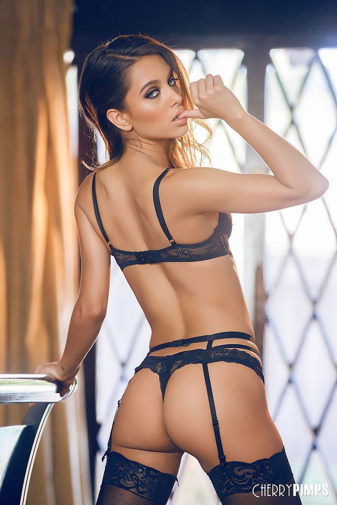 Super modelka w seksownym outficie