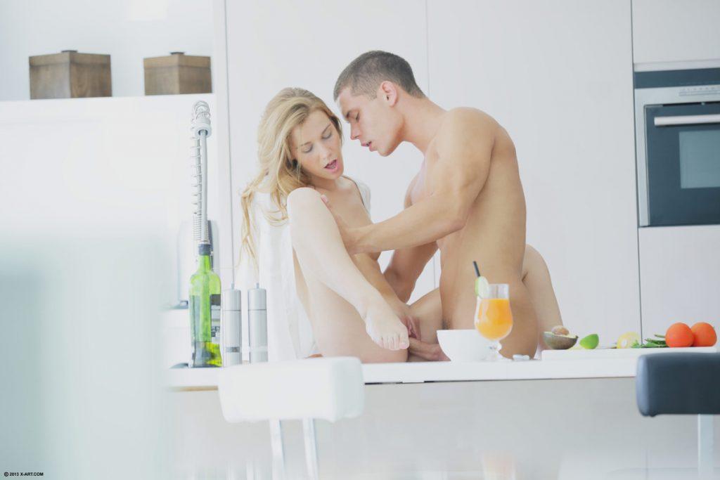 Poranne śniadanko młodej pary